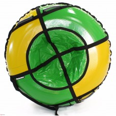 Тюбинг HUBSTER Sport Plus желтый/зеленый 105 см. (во4190-1)