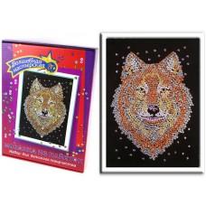 Мозаика из пайеток Волк (Волшебная мастерская, 036вм)