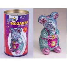 """Мозаика из пайеток 3D """"Мышка"""""""