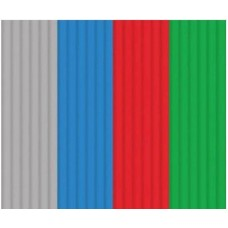 """Эко-пластик к 3Д ручке 3DOODLER """"Стартовый набор"""" 24 шт, 4 цвета в ассортименте (серый, синий, красный зеленый)"""