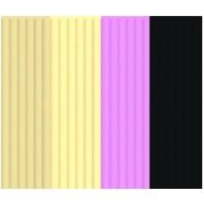 """Эко-пластик к 3Д ручке 3DOODLER """"Кондитерскя"""" 24 шт, 4 цвета в ассортименте (бежевый, персиковый, розовый, чёрный)"""