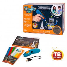 3Д Ручка 3DOODLER START, базовый набор (E-Comm) (Wobble Works (HY) Limited, 3DS-ESST-TNG-E)