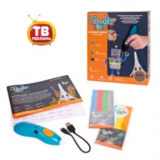 3Д Ручка 3DOODLER START, базовый набор (Wobble Works (HY) Limited, 3DS-ESST-TNG-R-17)