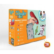 3Д Ручка 3DOODLER START, подарочный набор Дизайнер (Wobble Works (HY) Limited, 3DS-PDSP-MUL-R)