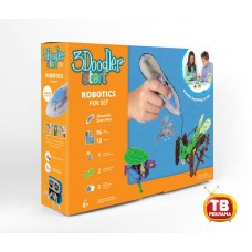 3Д Ручка 3DOODLER START, подарочный набор Роботы (Wobble Works (HY) Limited, 3DS-ROBP-MUL-R)