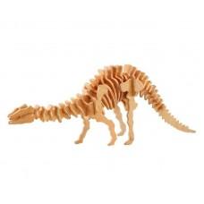 """Модель деревянная сборная """"Апатозавр"""" (4пласт.) (Wooden Toys, J008)"""