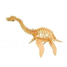 """Модель деревянная сборная """"Плезиозавр"""" (4пласт.) (Wooden Toys, J010)"""