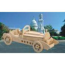 """Модель деревянная сборная """"Мерседес"""" (4пласт.) (Wooden Toys, P013)"""