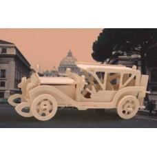 """Модель деревянная сборная """"Автомобиль Самбим"""" (4пласт.) (Wooden Toys, P017)"""