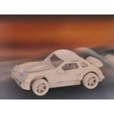 """Модель деревянная сборная """"Порше"""" (5пласт.) (Wooden Toys, P066)"""