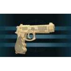 """Модель деревянная сборная """"Пистолет Беретта"""" (Wooden Toys, P112)"""