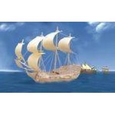 """Модель деревянная сборная """"Парусник Орел"""" (Китай) (Wooden Toys, P128)"""