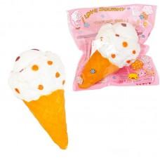 Игрушка мягкая антистресс (ПУ) Мороженое, 19см.