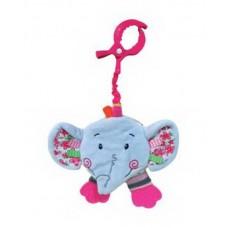 """Книжка -подвеска с шуршалкой """"Слонёнок Тим"""""""