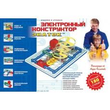 """Конструктор электронный ЗНАТОК """"180 схем"""""""