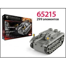 Конструктор World of tanks Stug III ausf. G 299 деталей (ZORMAER, 65215)