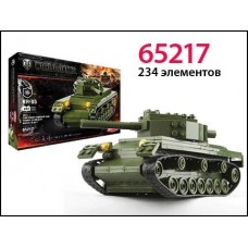 Конструктор World of tanks КВ - 85 1943 234 деталей (ZORMAER, 65217)