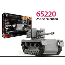 Конструктор World of tanks Waffentrager AUF PZ IV 256 деталей (ZORMAER, 65220)