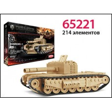 Конструктор World of tanks танк Churchill I 218 деталей (ZORMAER, 65221)