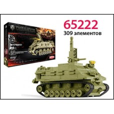 Конструктор World of tanks M7 Priest 307 деталей (ZORMAER, 65222)