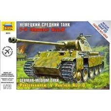 Модель сборная Немецкий средний танк Пантера T-V Ausf D (Звезда, 5010з)